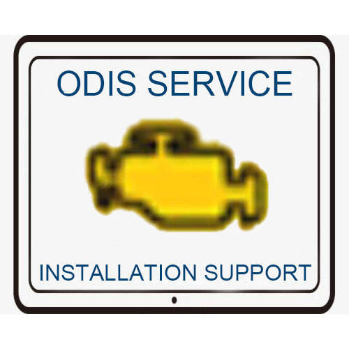 Remote Install ODIS Service Software 7.1.1