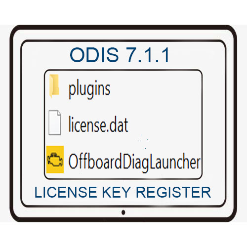 ODIS 7.1.1 License Key Registration Service